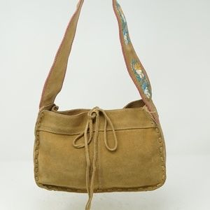 Express Leather Hippie Boho Purse Bag Native